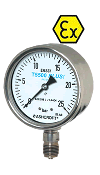 T5500 - Stainless steel gauges